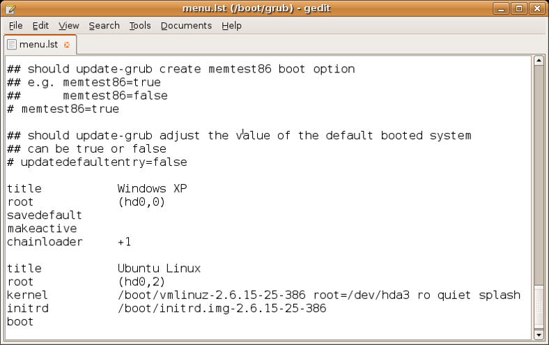 CodeForest | Grand Unified Boot loader (GRUB)